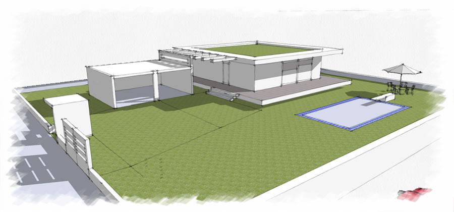 Progetti case moderne cn49 regardsdefemmes for Villette moderne progetti